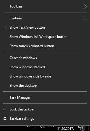windows 10 shortcats