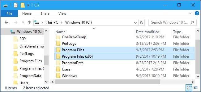 windows Program Files (x86)