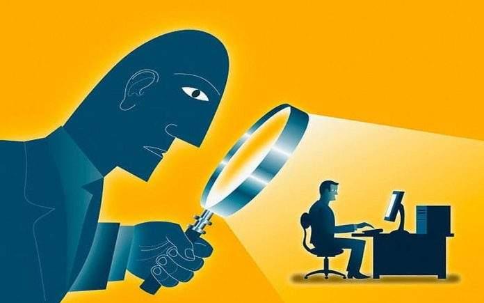 špijuniranje na internetu