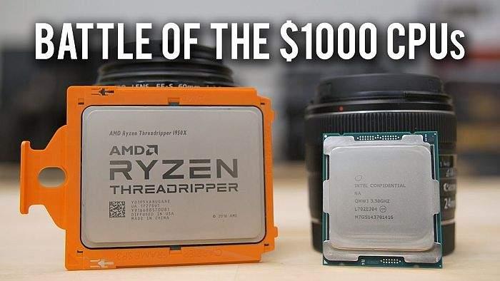 AMD Ryzen Threadripper 1950X ili Intel Core i9-7960X