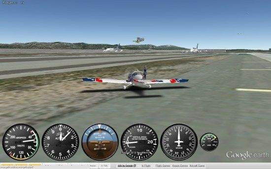 Flight Simulator google earth igra