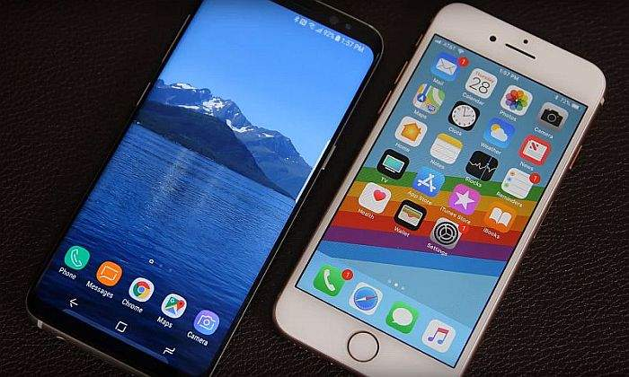 Iphone8 i galaxy s8 koji je bolji
