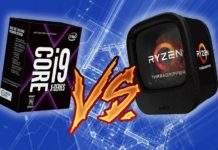 Ryzen 1950X vs i9-7960X