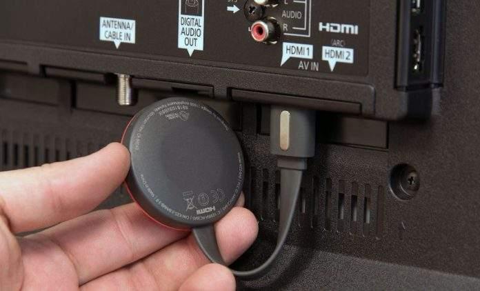 chromecast-spajanje računala i televizora