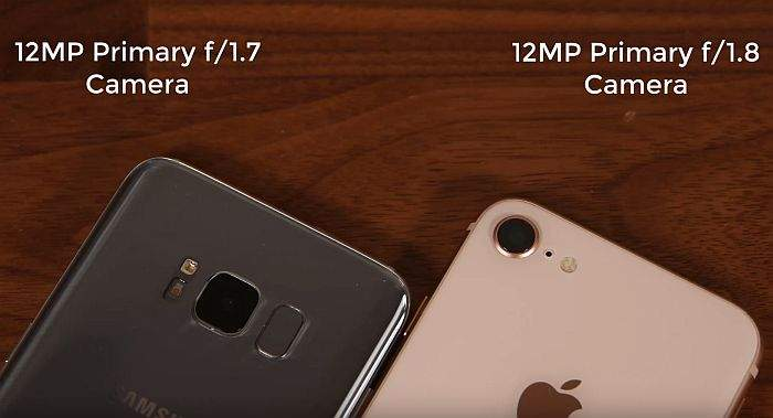 iphone 8 i galaxy s8 usporedba kamere