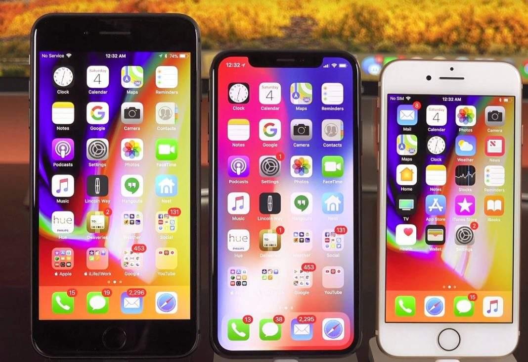 iphone x usaporedba sa iphone 8 i iphone 8 plus
