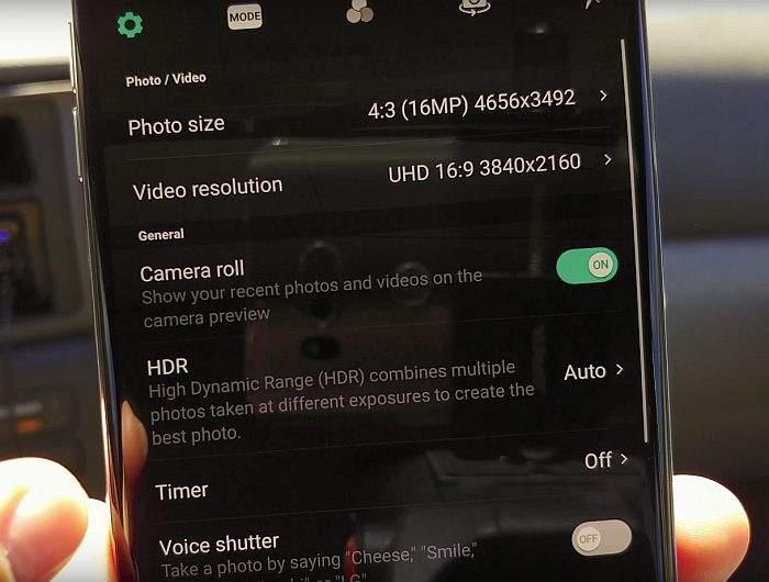 LG V30 kamera test