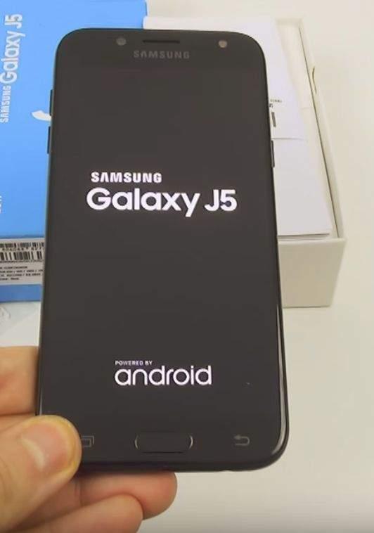 Samsung Galaxy J5 (2017) dizajn