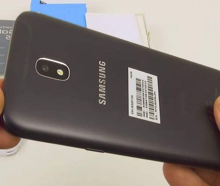 Samsung Galaxy J5 (2017) kamera