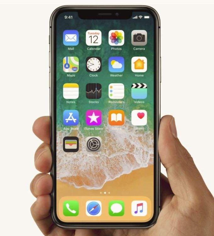 iphone x zaslon