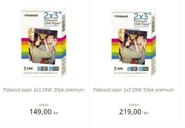 polaroid zip cijena