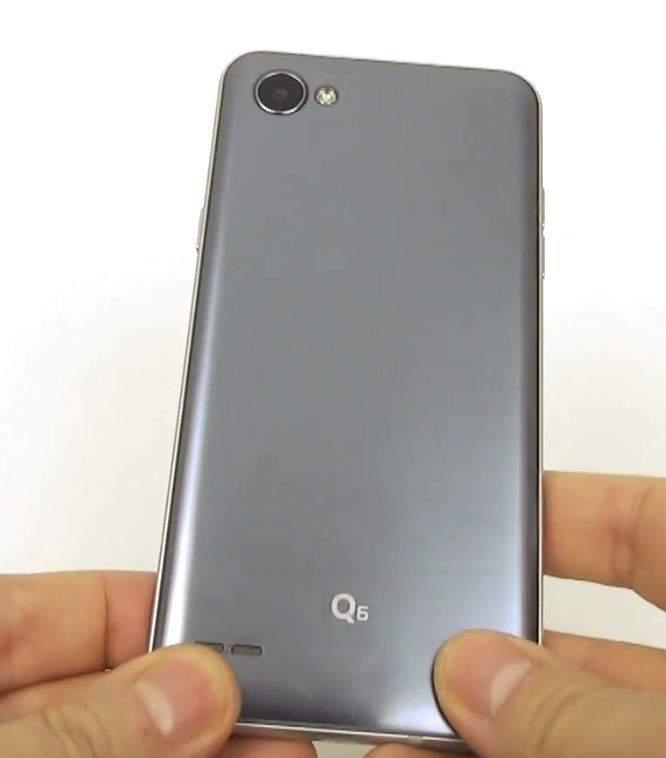 LG Q6 STRAŽNJA STRANA