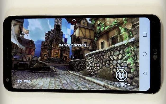 LG Q6 gaming performanse