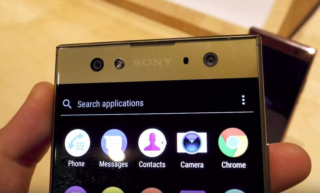 Sony Xperia XA2 Ultra selfie dvostruka kamera