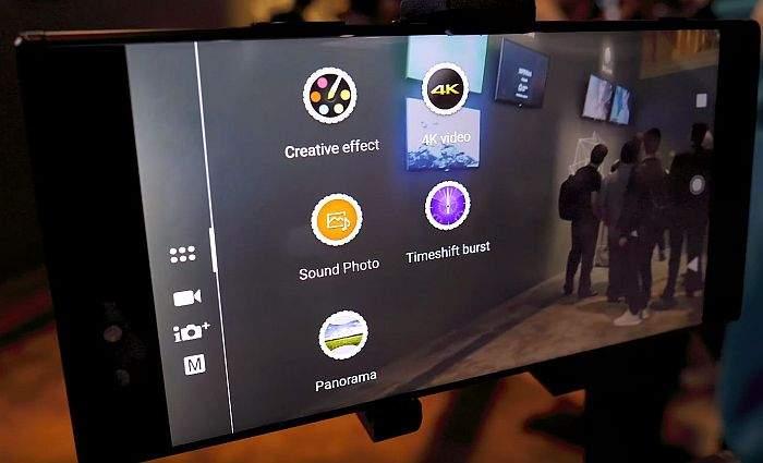Sony Xperia XA2 kamera