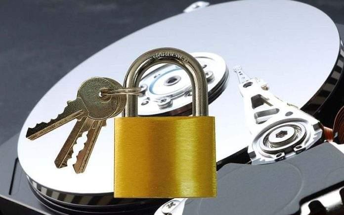 kriptiranje disk particija
