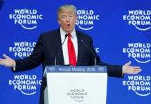 world economic forum - trump