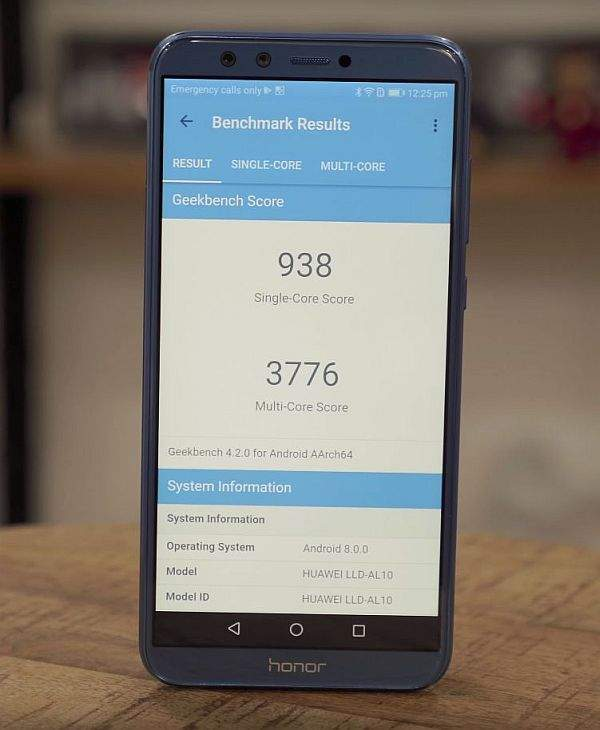 Huawei Honor 9 Lite benchmark