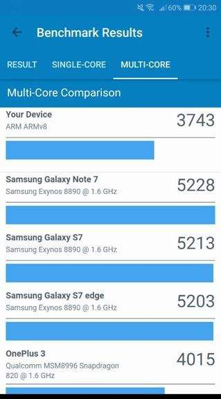 Huawei P Smart performanse