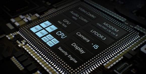Huawei P10 Lite Kirin 658 soc