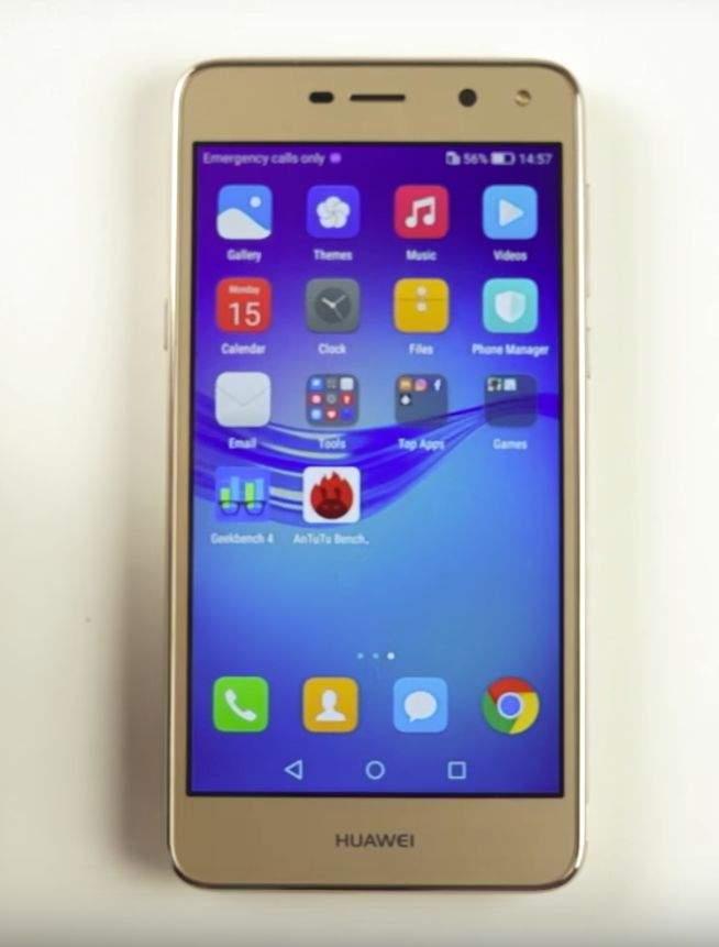 Huawei Y6 2017 test