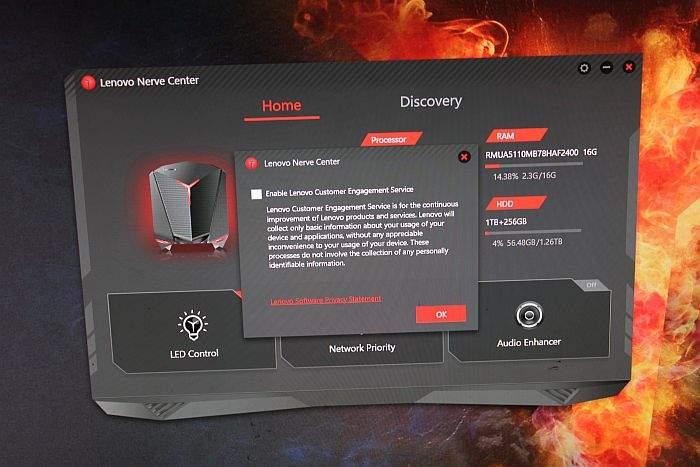 Lenovo IdeaCentre Y720 Cube softver