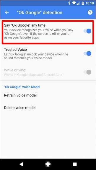 OK Google any time