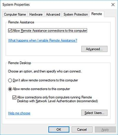 Remote Desktop Connection 2
