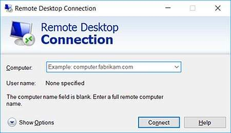 Remote Desktop Connection 3