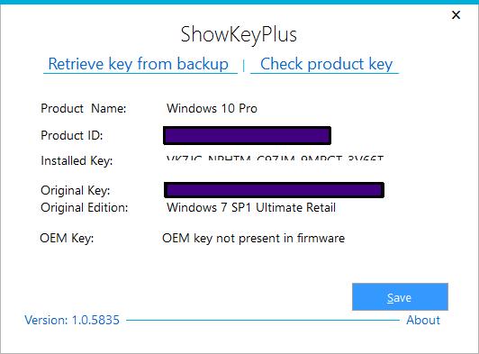 windows digitalna licenca