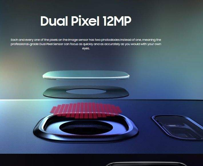 dual pixel kamera