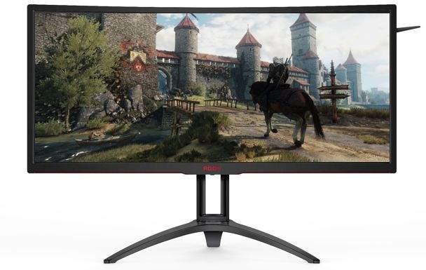 gaming monitor AOC AGON AG352UCG