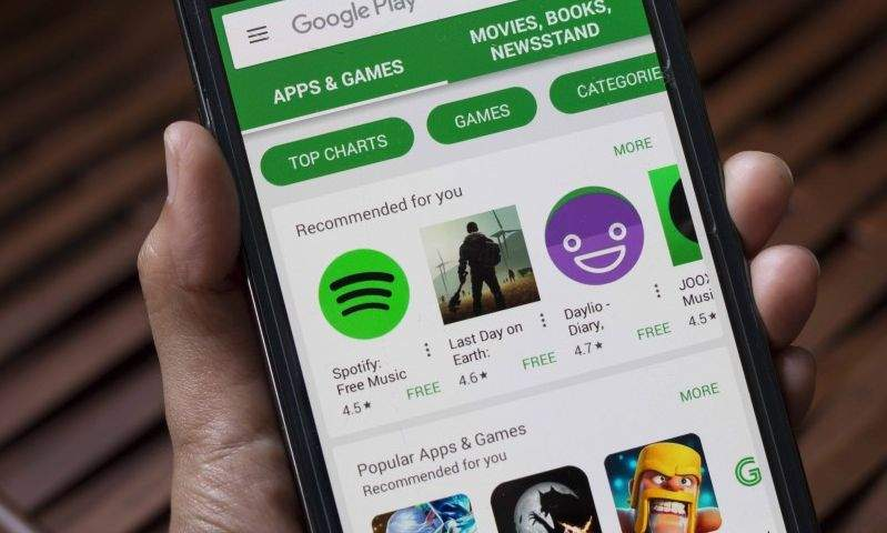 google čisti Play store od sumnjivih aplikacija