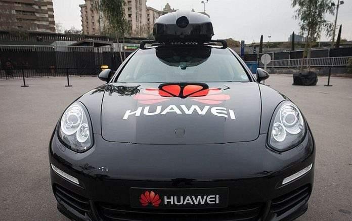 huawei autonomno vozilo