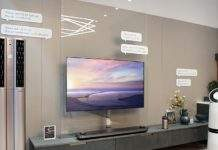 LG smart home tv