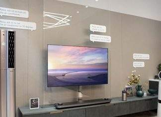 LG smart home tv