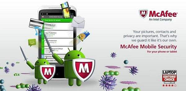 McAfee Mobile Security and Lock