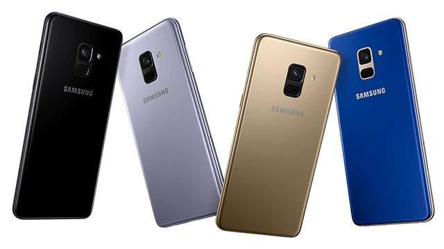 Samsung Galaxy A8 2018 boje