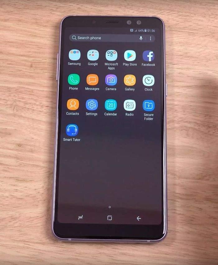 Samsung Galaxy A8 (2018) ekran