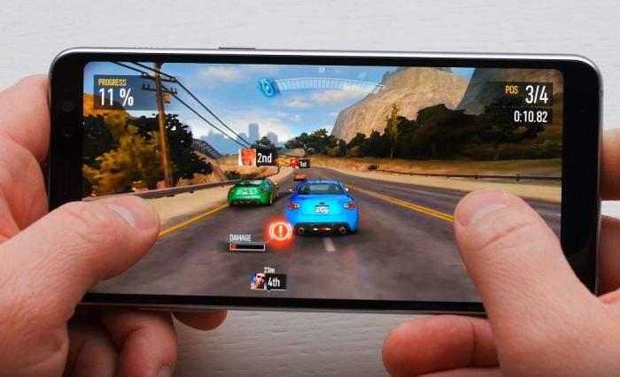 Samsung Galaxy A8 (2018) performanse