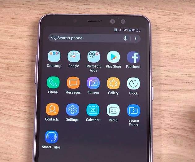 Samsung Galaxy A8 (2018) softver