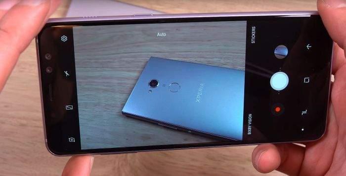 Samsung Galaxy A8 (2018) test kamera
