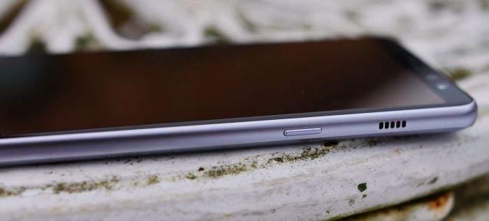 Samsung Galaxy A8 (2018) test