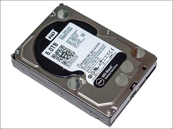 WD Black 6TB HDD