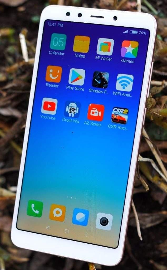 Xiaomi Redmi 5 ekran
