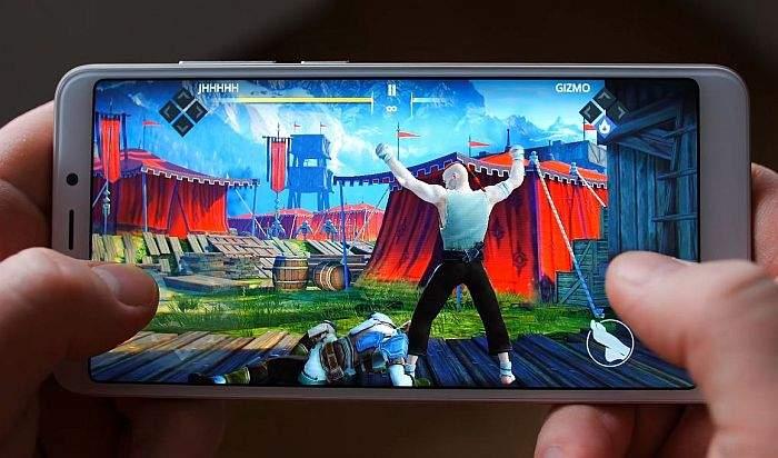 Xiaomi Redmi 5 igranje