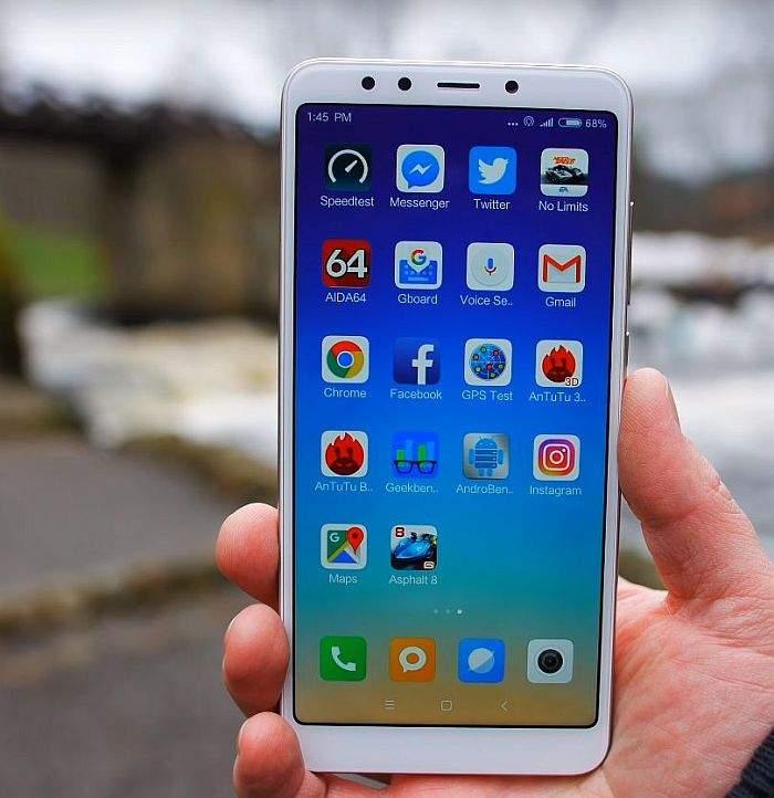 Xiaomi Redmi 5 recnezija