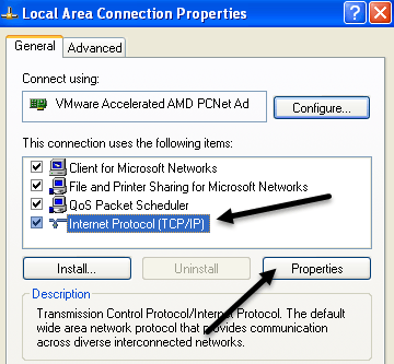 network-connection-properties
