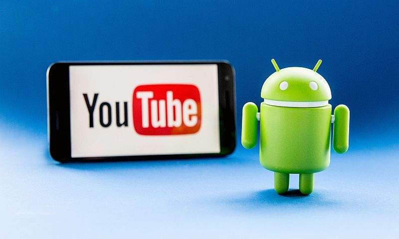 youtube na Androidu
