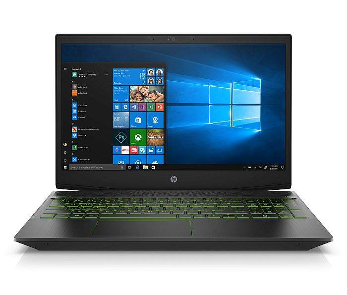 HP Pavilion Gaming Laptop_Front_ShadowBlack_AcidGreen